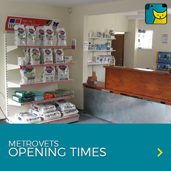 metrovets opening times