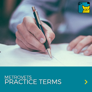 metrovets practice terms